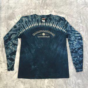 Women's Harley Davidson Tie-Dye LS Size 14/16 (L)